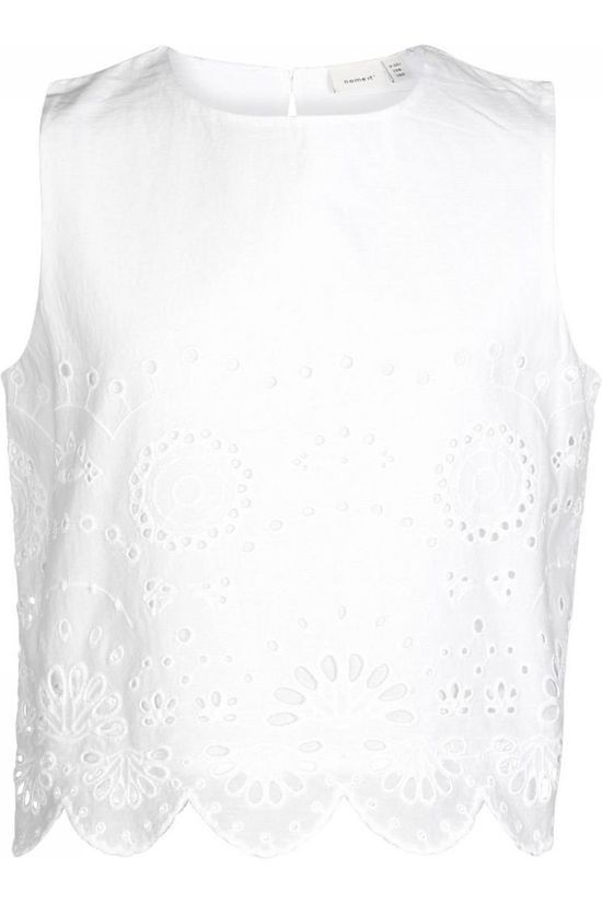 Name It Blouse Nkffelicity Short Blanc