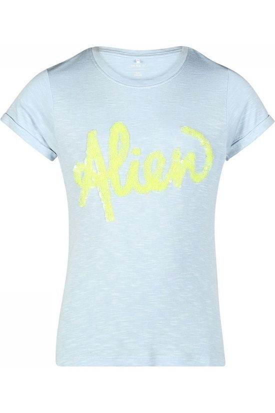 Name It T-Shirt Nkfthoa Ss Bleu Clair