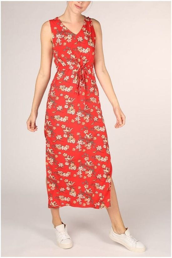 Vero Moda Dress Simply Easy Tank  mid red/Assortment Flower