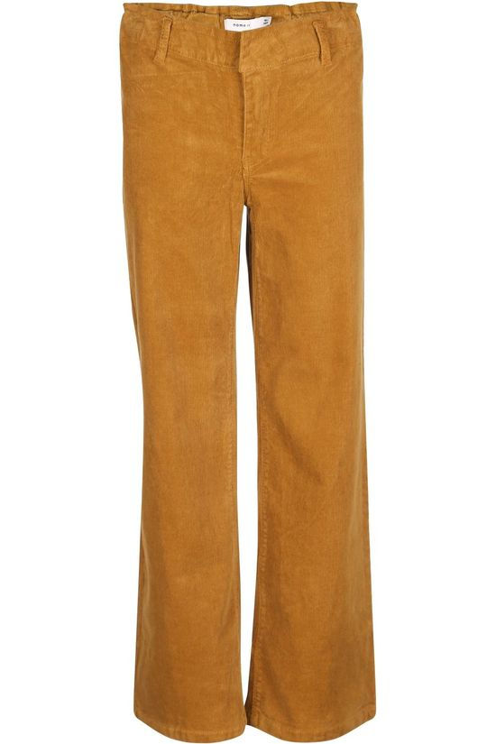 Name It Trouser salli Cordbetrice Wide Cp dark yellow