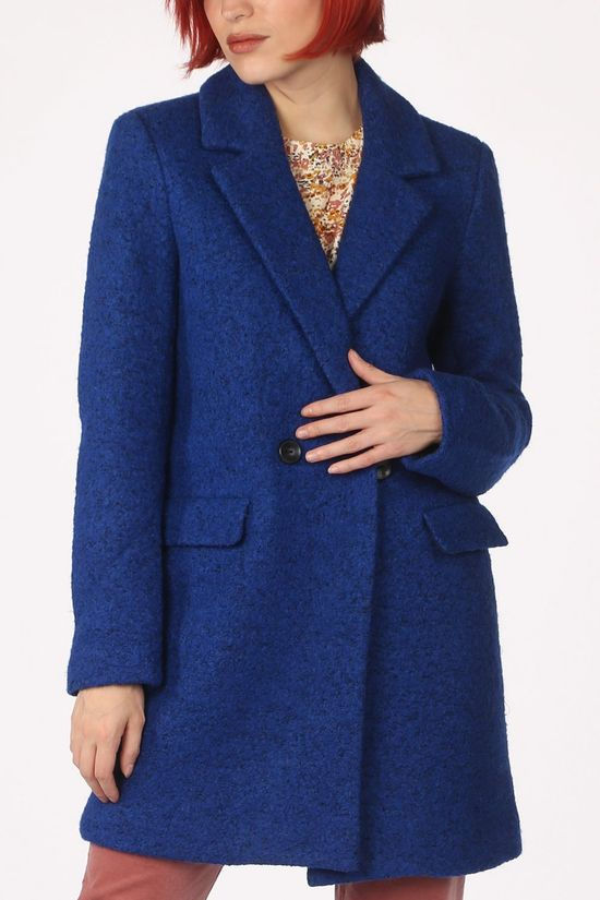 Only Coat newally Wool royal blue