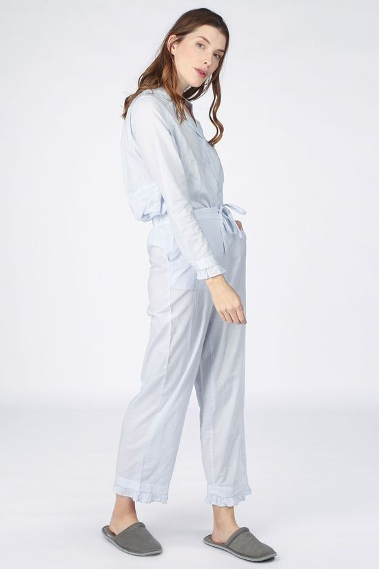 Selected Pyjama billie Pj Set Lichtblauw