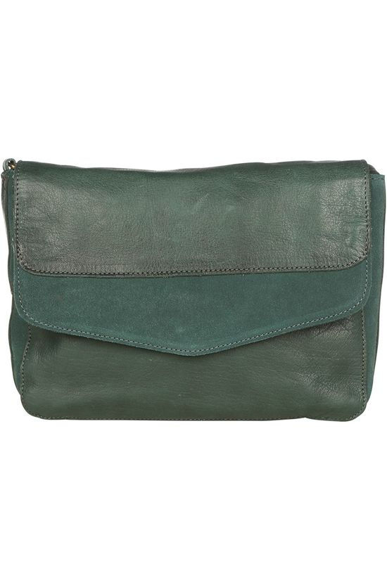 Pieces Bag svalle Leather Cross Body mid green