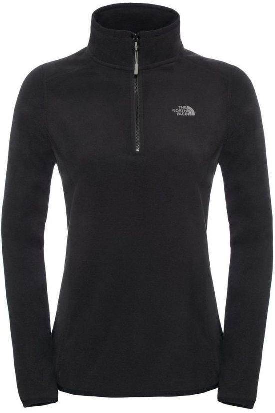 The North Face Fleece Glacier 1/4 black