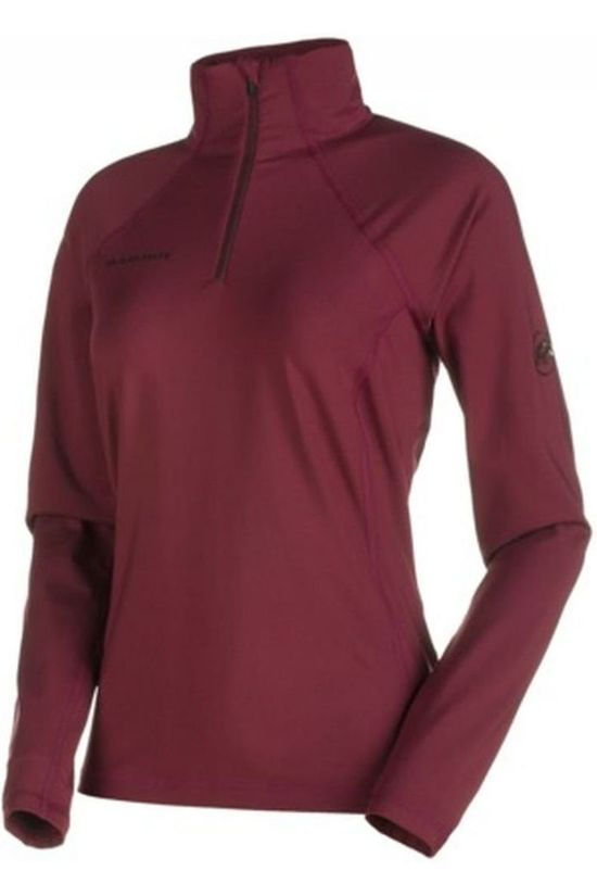 Mammut Fleece Snow ML Half Zip Bordeaux
