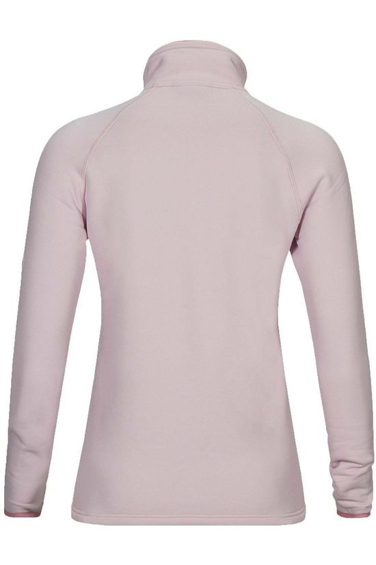 Peak Performance Fleece W Chill Zip light pink