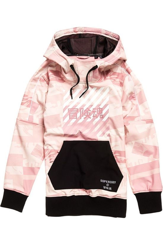 Superdry Coupe-Vent Freestyle Tech Overhead Rose Clair