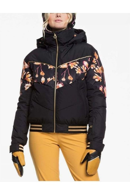 Roxy Coat Torah Bright Summit Black/Ass. Flower