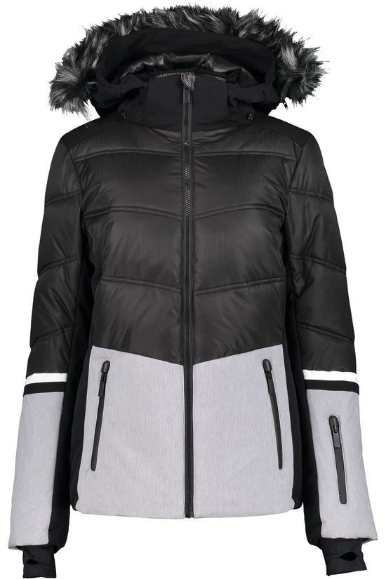 Icepeak Coat Electra I black/light grey