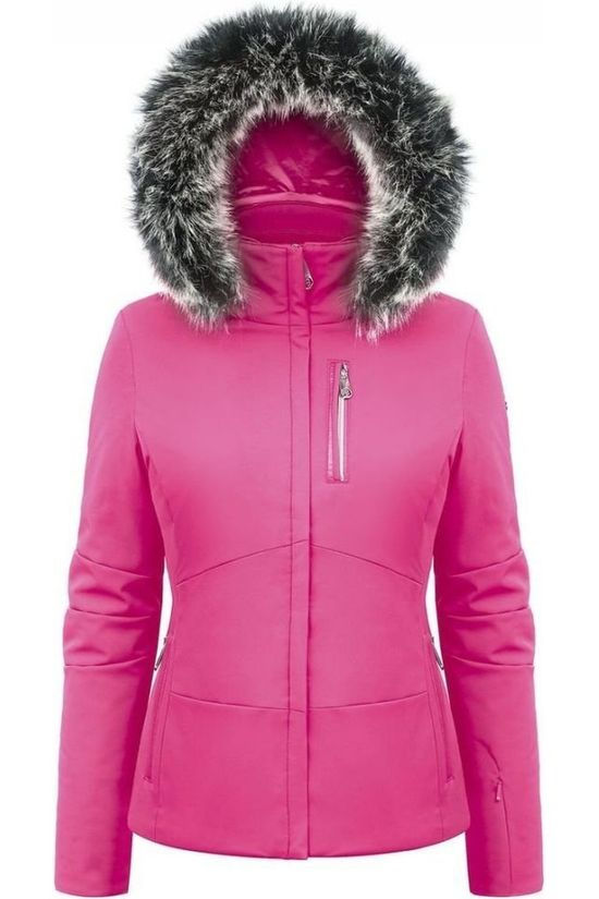 Poivre Blanc Coat Stretch Skijacket Fuchsia