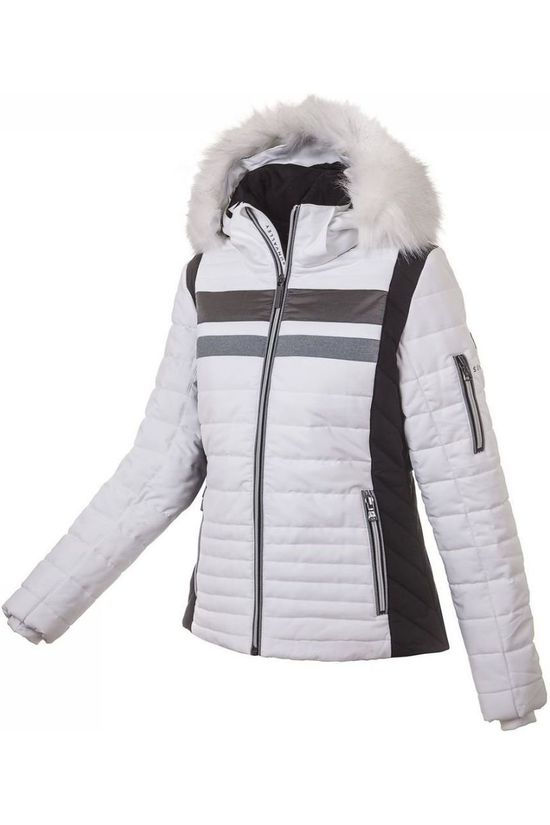 Sun Valley Manteau Reefton Blanc/Noir