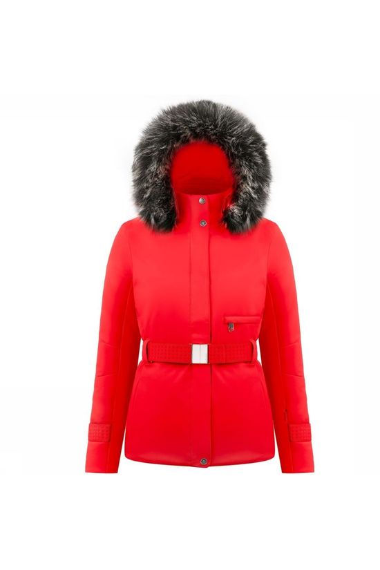 Poivre Blanc Coat Stretch Ski Ceintuur red