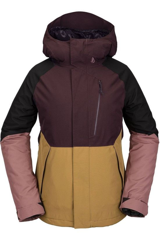Volcom Coat Aris Insulated Gore Bordeaux / Maroon/Black