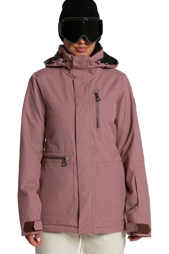 Volcom Coat Shelter 3D Stretch mid pink
