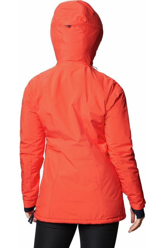 Columbia Manteau Dust On Crust Insulated Orange