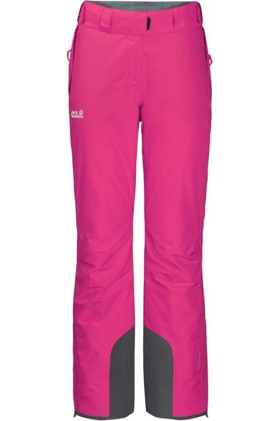 Jack Wolfskin Skibroek Powder Mountain Fuchsia