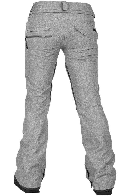 Volcom Pantalon De Ski Species Stretch Gris Clair Mélange