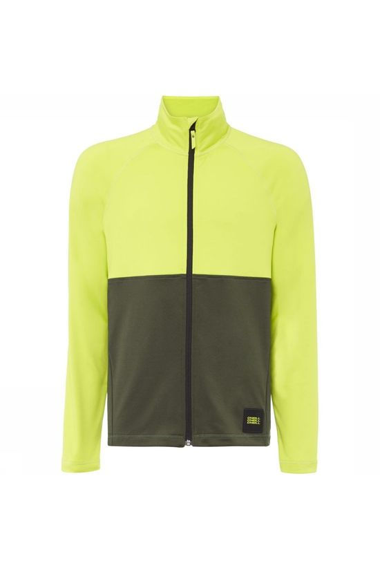 O'Neill Fleece Clime Fz Lime Green