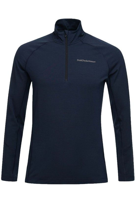 Peak Performance Fleece M Magic Half Zip Donkerblauw