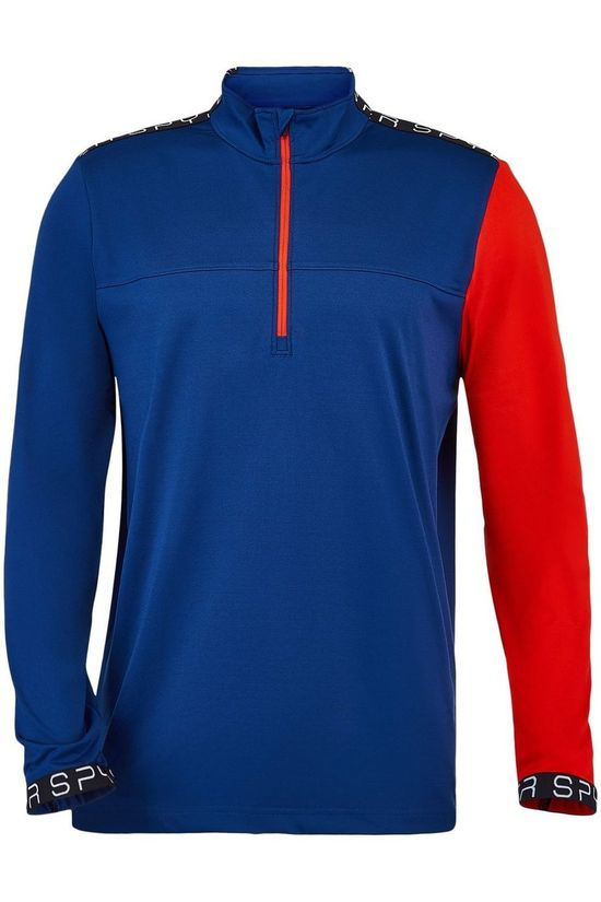 Spyder Fleece Orion blue/red