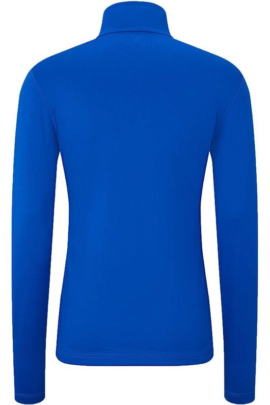 Fire + Ice Fleece Pascal Halfzip royal blue