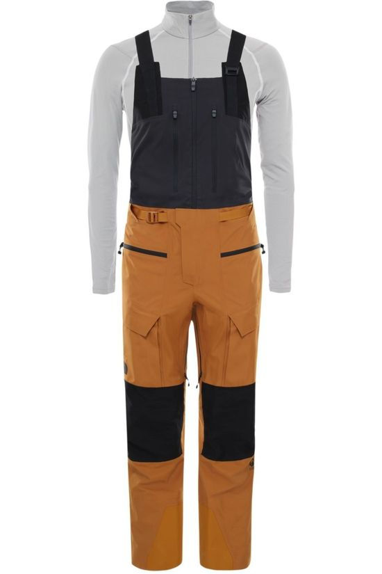 The North Face Skibroek A-Cad Futurelight Bib Kameelbruin/Zwart