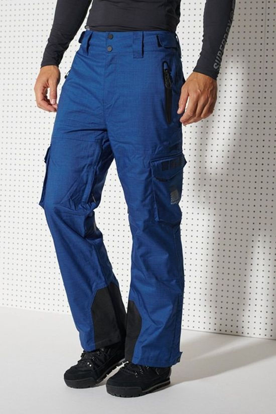 Superdry Pantalon De Ski Ultimate Snow Rescue Pant Bleu Roi