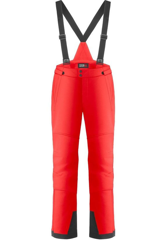 Poivre Blanc Ski Pants Stretch Ski Pants red