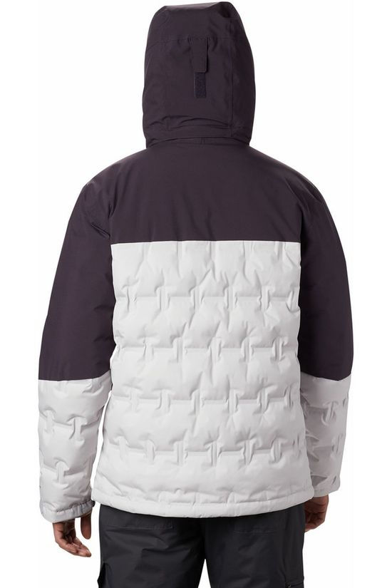 Columbia Coat Wild Card light grey/dark purple