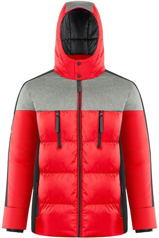 Poivre Blanc Coat H-Synthetic Down Jacket red