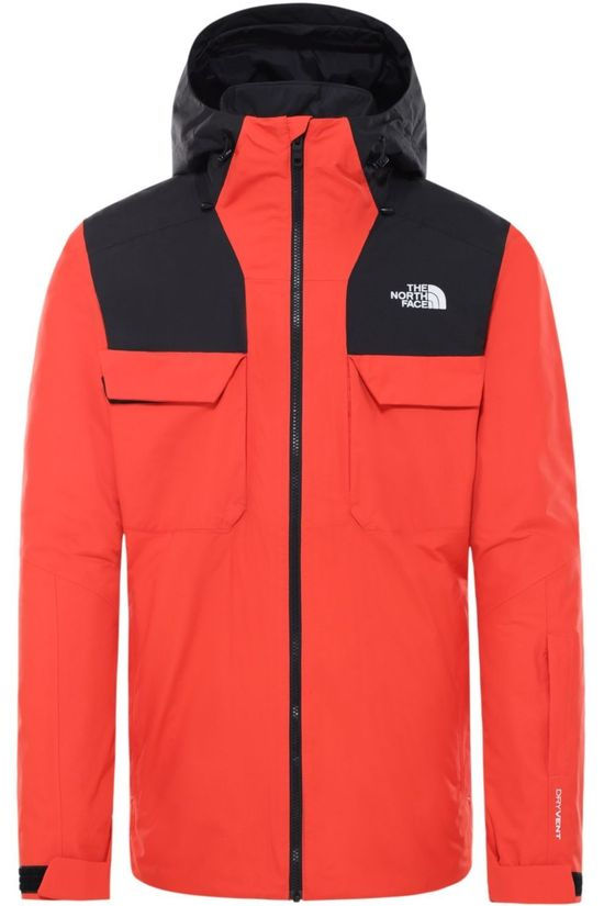 The North Face Jas Fourbarrel Triclimate Oranje/Zwart