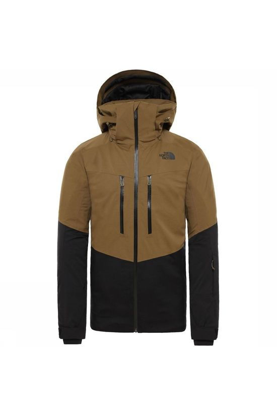 The North Face Manteau Chakal Kaki Foncé/Noir