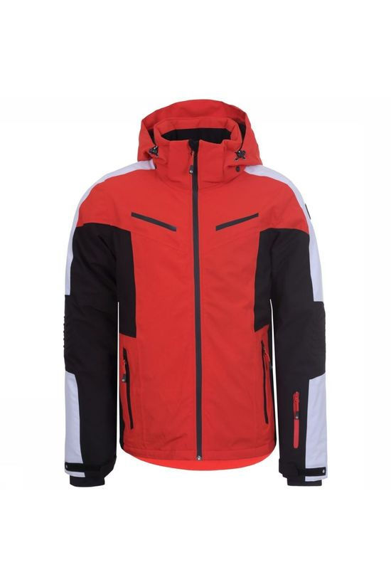 Icepeak Coat Fieldon red/black