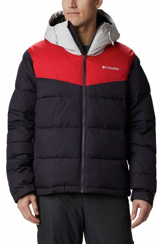 Columbia Coat Iceline Ridge dark purple/red