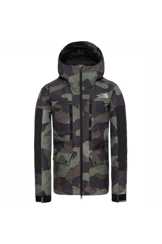 The North Face Coat Goldmill Parka Mid Khaki/Ass. Camouflage