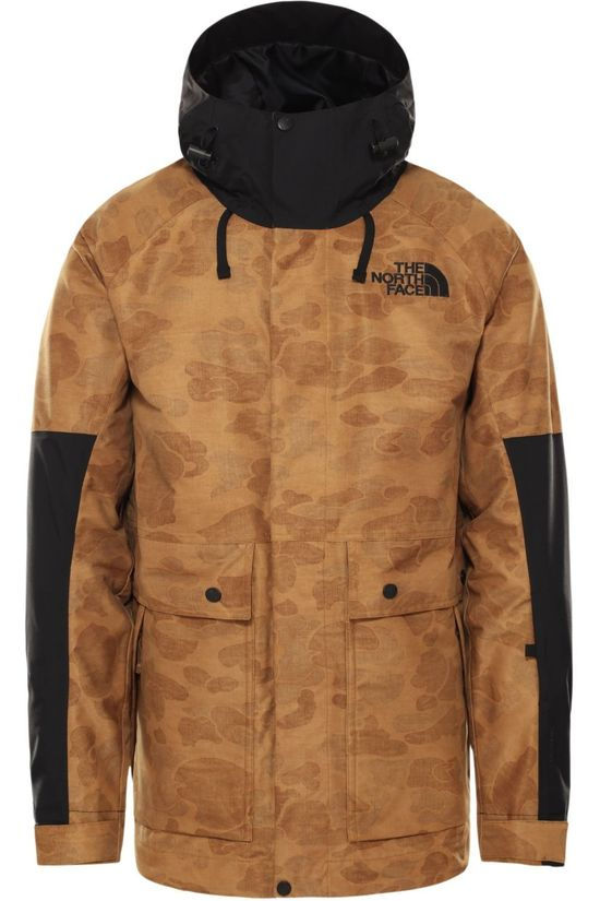 The North Face Manteau Balfron Marron Chameau/Ass. Camouflage