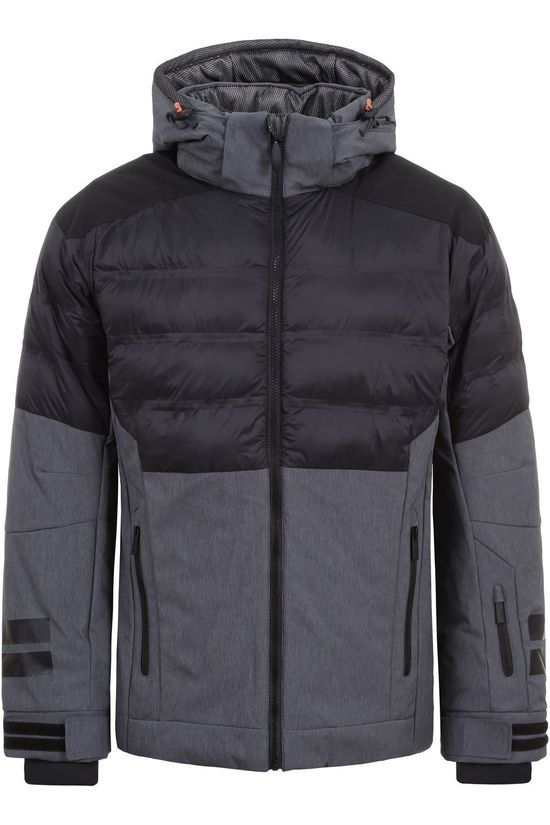 Icepeak Coat Errol black/dark grey