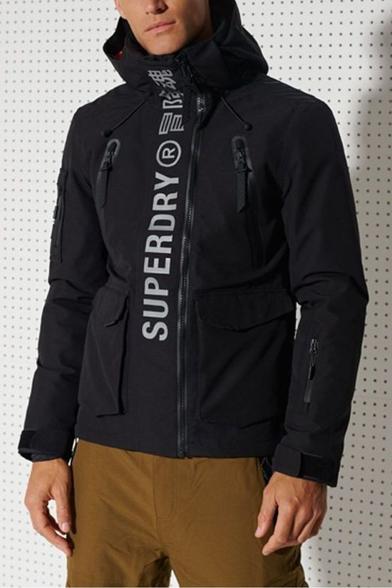 Superdry Coat Ultimate Mountain Rescue black
