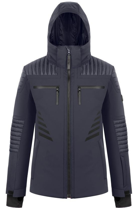 Poivre Blanc Coat Ski Jacket Stretch dark blue