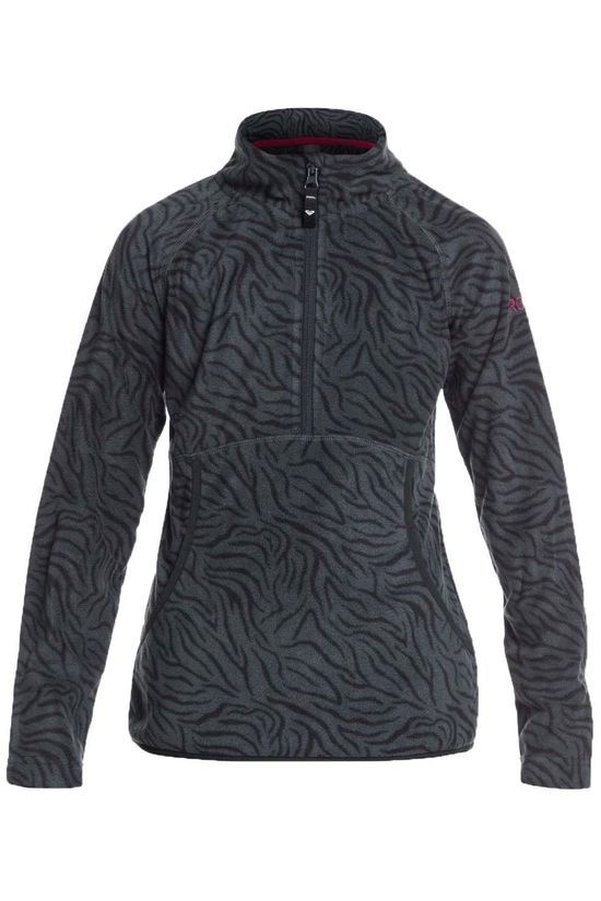 Roxy Fleece Cascade Girl Dark Grey/Assorted / Mixed