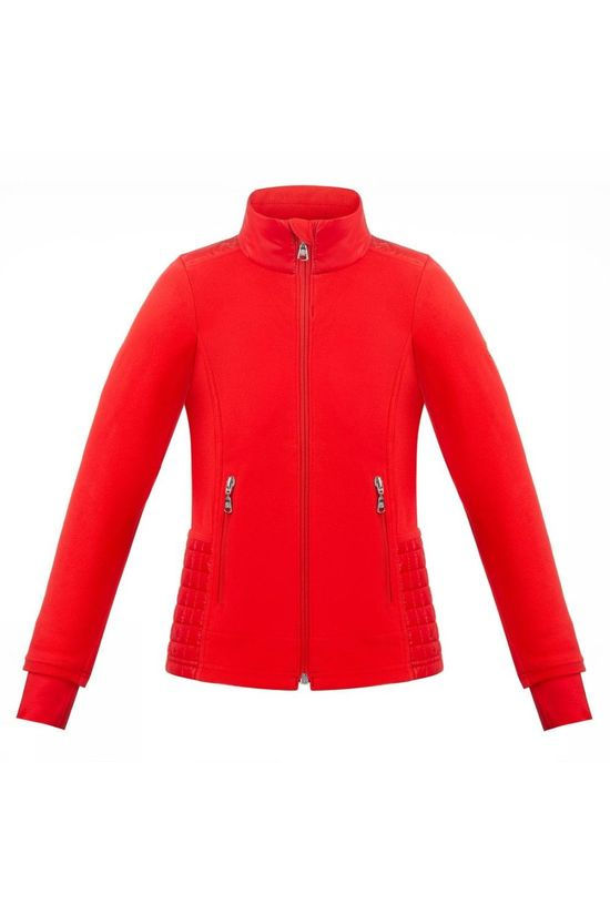Poivre Blanc Fleece Hybrid red