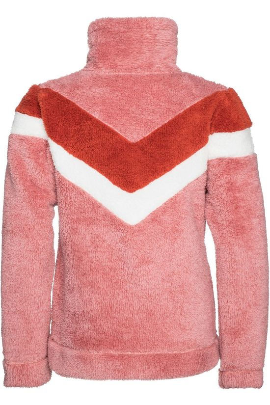 Protest Fleece Tess Jr light pink/red