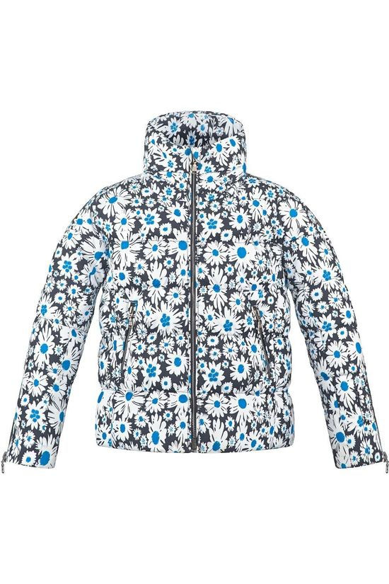 Poivre Blanc Coat 20Pbh1201/Jrgl Blue/Ass. Flower