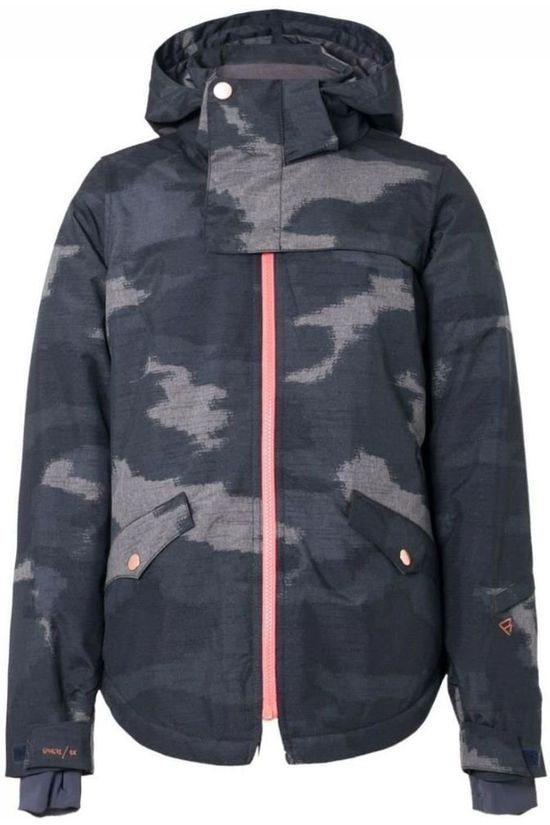 Brunotti Jas Angel Jr Blauw/Ass. Camouflage