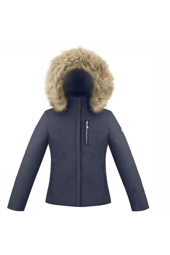 Poivre Blanc Coat 18Pbh0802 dark blue