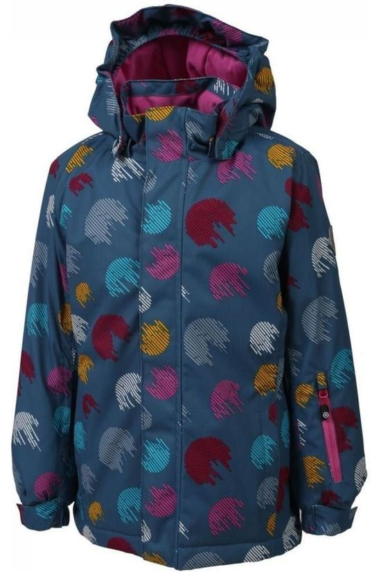 Color Kids Coat Donja Turquoise/Mid Pink