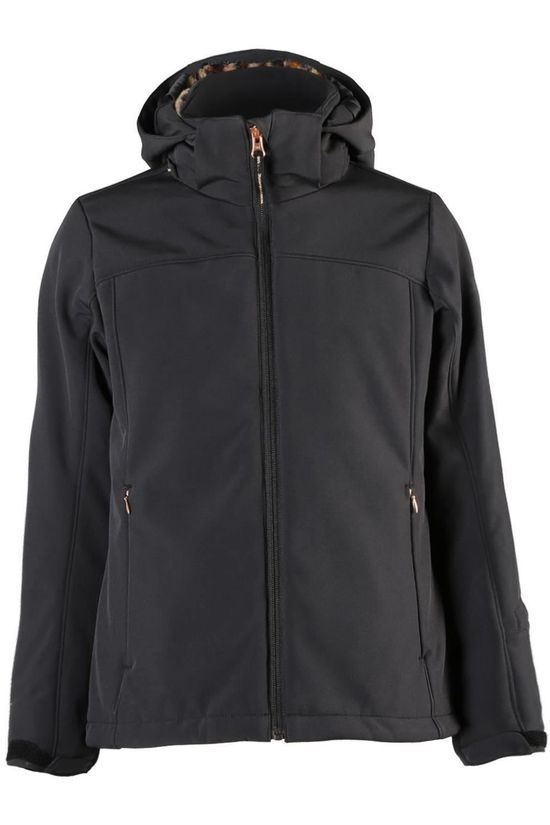 Brunotti Softshell Ariesta-Jr Girls black