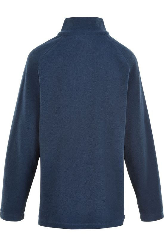 Color Kids Fleece Pulli, Solid Donkerblauw