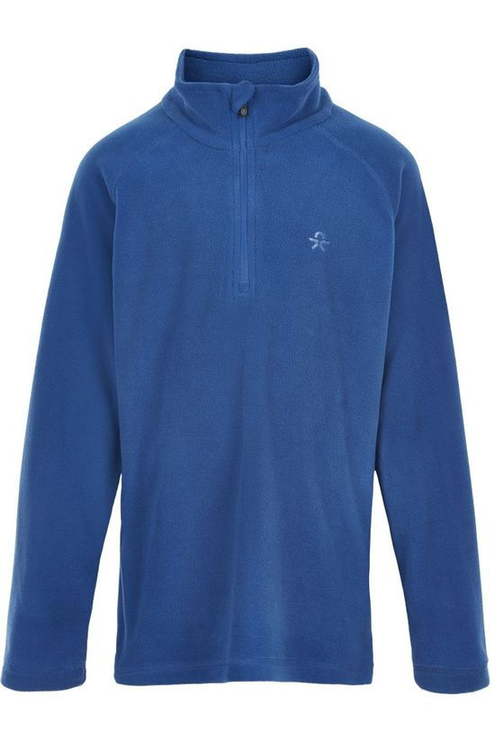 Color Kids Polaire Pulli, Solid Bleu