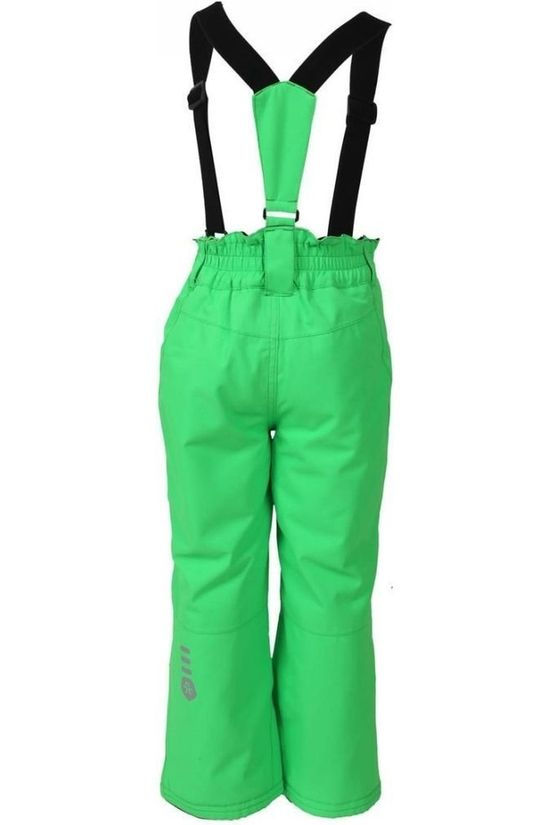 Color Kids Ski Pants Sanglo green
